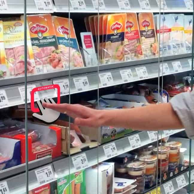 Next-generation proximity sensors in a fridge? Oh yes!!